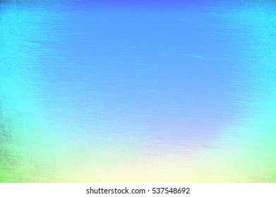 Paint Brush Grunge Texture Swatch Holographic Gradient Vignette Background