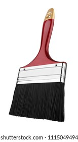 Paint Brush, isolated on a white background