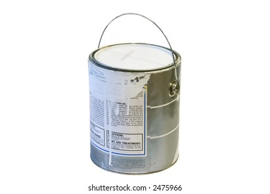 paint bucket against a white background