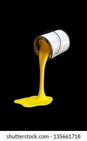 Paint can - Yellow