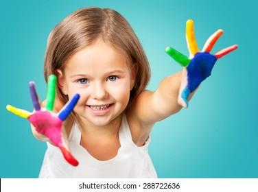 Paint, child, boy.