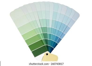 Paint Chip Samples