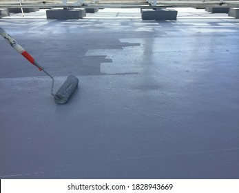 Paint decks, products for waterproofing