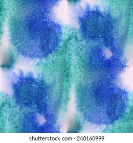 paint  ink  stain  watercolour blue green blob spot brush watercolor abstract background texture seamless