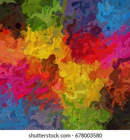 paint like illustration graphic background with rough paper texture