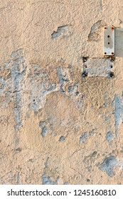 Paint peeling of from wall texture