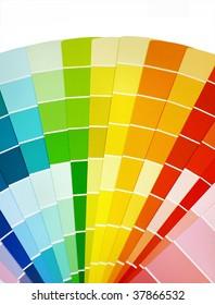 paint selection color wheel