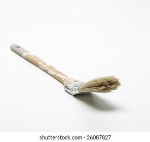 Paintbrush isolated on a white background
