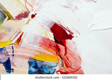 painted abstract background - Shutterstock ID 522469102