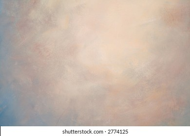 Painted background texture with visible brush strokes