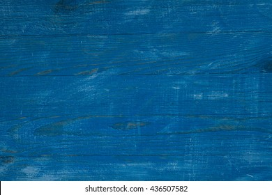 Painted blue and white old wooden wall. rustic texture background. Old wooden painted light blue rustic background, paint peeling