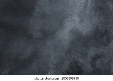 Painted canvas textured with cloud-like patterns, blue and gray tints