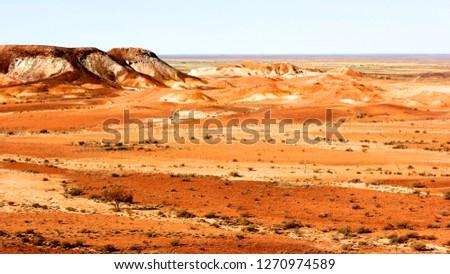 Painted desert near Cooper