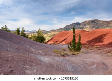 Painted Hills - colorful desert in Oregon