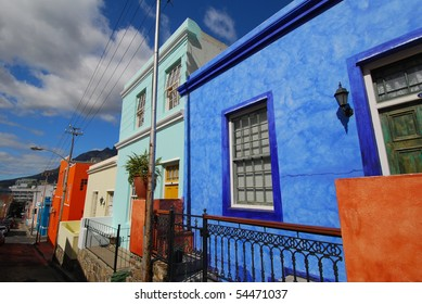 Painted houses South Africa