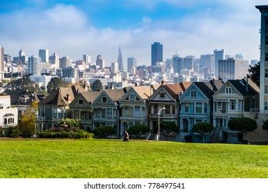 The Painted Ladies, San Francisco, California