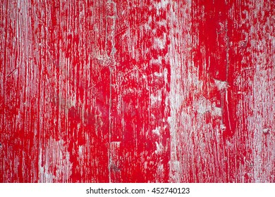 painted old wooden wall,red background,select focus with shallow depth of field:ideal use for background.
