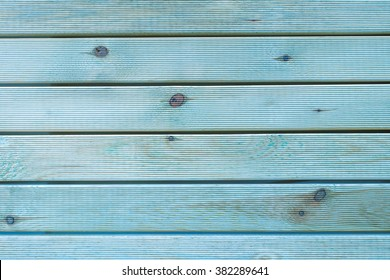 Painted Plain Teal Blue and Gray Rustic Wood Board Background that can be either horizontal or vertical. Blank Room or Space area for copy, text, your words, above looking down view.