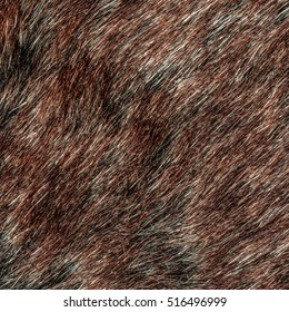 painted red natural fur texture as background. Useful for Your design-works