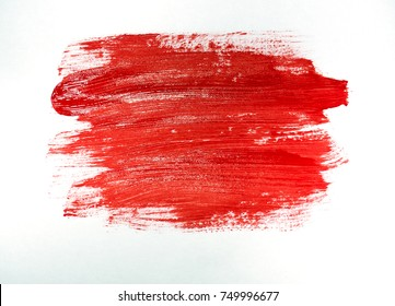 Painted with a red paint symbol.