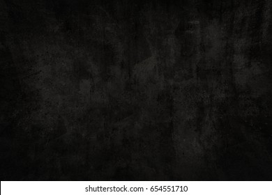 Painted wall texture in black.