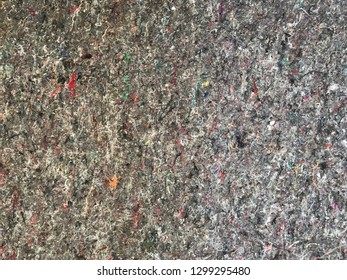 Painter fleece, cotton painter fleece fabric mat texture.Material for cover and protect floor from painting colour splashes in construction site .