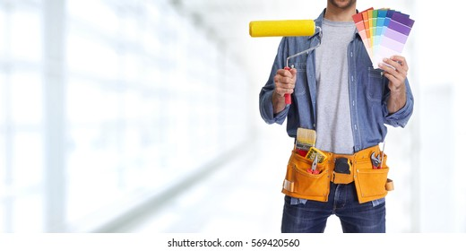 Painting Contractors Images Stock Photos Vectors Shutterstock - Painting contractors