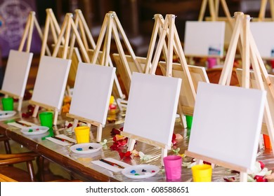 painting at art school.