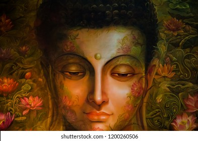Painting of Budha