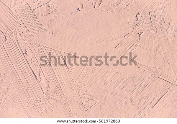 Painting close up of pale dogwood pantone color, paint brush texture for interesting, creative, imaginative backgrounds. For web and design.