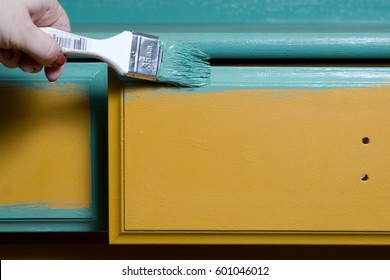 Painting of furniture