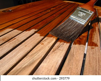 Painting Teak Furniture