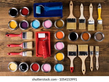 Painting tools and accessories for home renovation