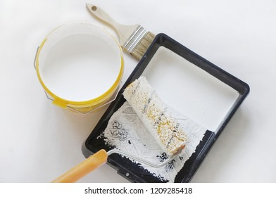 painting walls in white