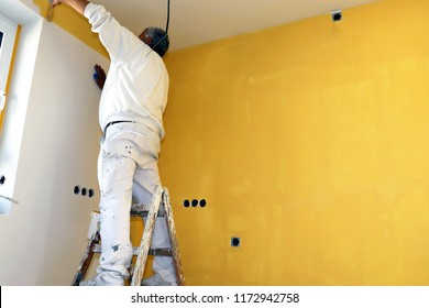 Painting works, wall painting
