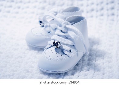 Pair of Babies first shoes