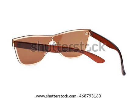 f174f92d370 Pair Brown Shade Sunglasses Isolated Over Stock Photo (Edit Now ...