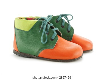 Pair of child's shoes