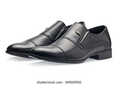 1dcafa690 A pair of classical black leather shoes for men