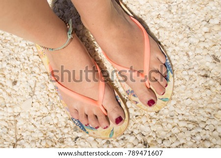Tiny sexy feet