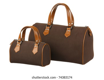 Pair of handbag big and small the choice for your lifestyle