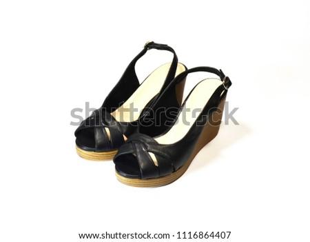 cf758604415 Pair Luxury Woman Black Highheel Shoes Stock Photo (Edit Now ...