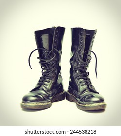Dr Martens Boots Images, Stock Photos