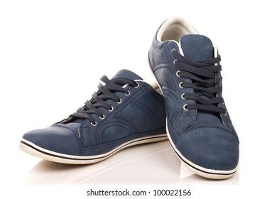 A pair of regular sneakers