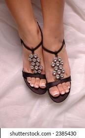 A pair of sexy stilettos