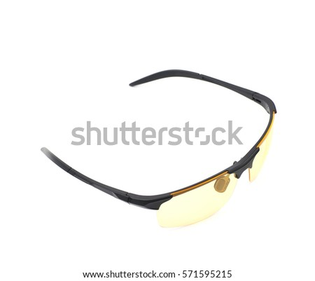 d62c2ebb605 Pair Shade Glasses Isolated Over White Stock Photo (Edit Now ...