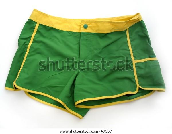 Pair of shorts.