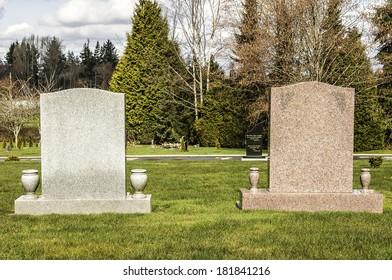 Pair of Tombstones