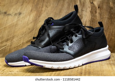 Pair of walking or casual shoes