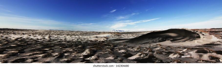 Paisaje de Islandia remoto